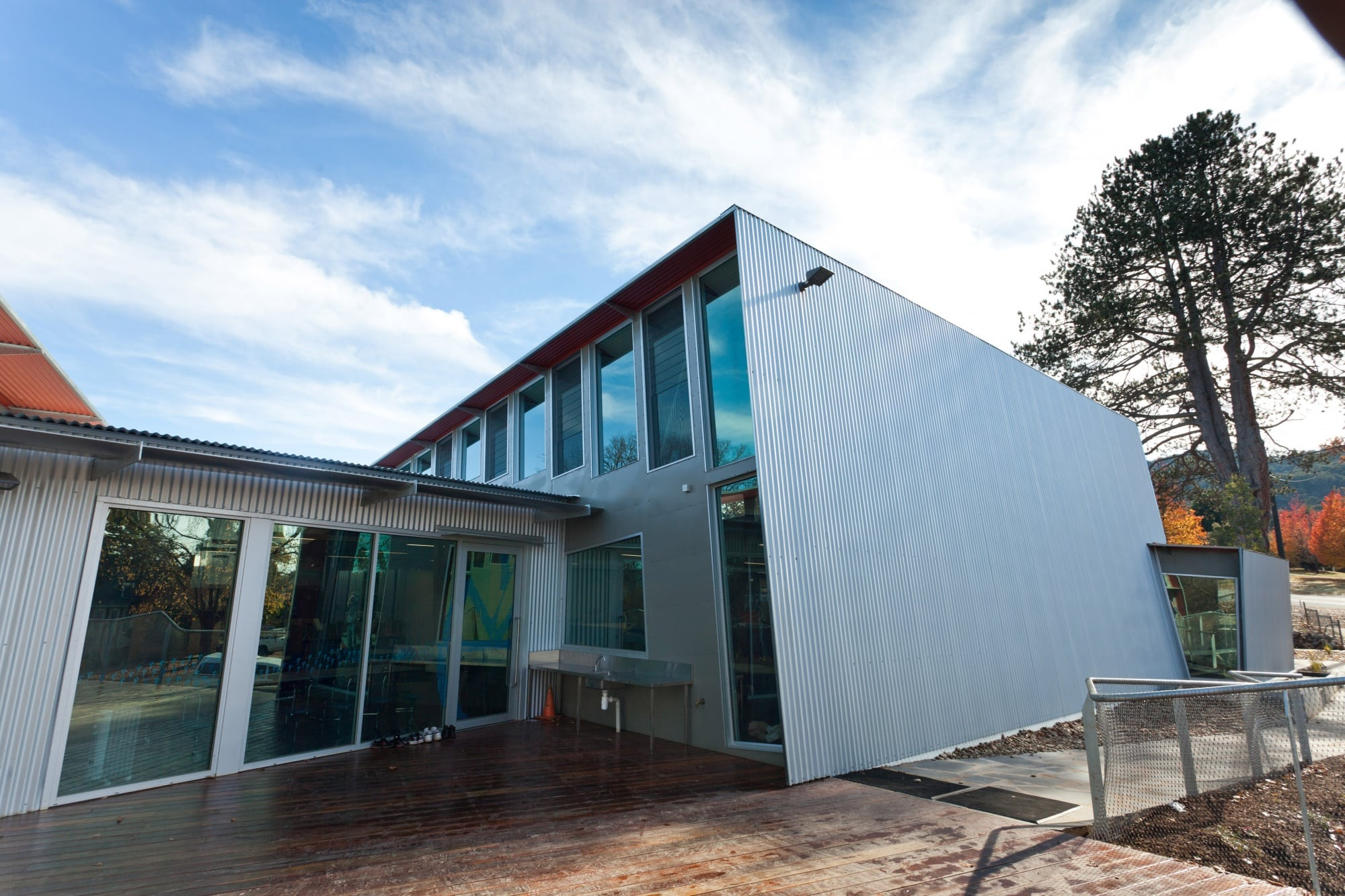 Yackandandah Primary School - Rear Facade